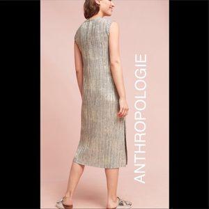 ab739985e1b3 Anthropologie Dresses - Anthropologie Corrina Metallic Dress